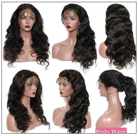 Long Body Wave Human Hair Full Lace Wig 150% and 180% Density Wigs Geared Towards Black Women 3-min