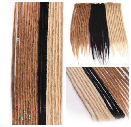 Long Dreadlock Extensions Crochet Human Hair Dreadlock Styles 2-min