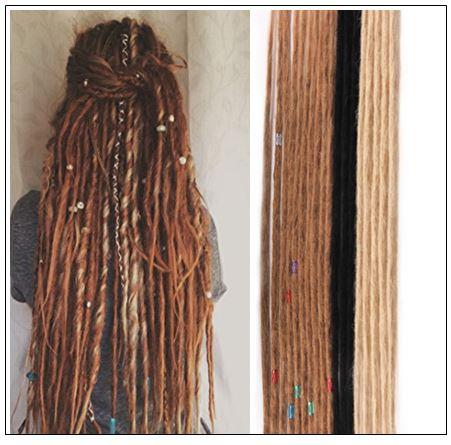 Long Dreadlock Extensions Crochet Human Hair Dreadlock Styles img-min