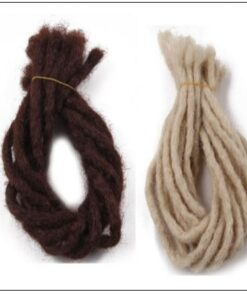 Medium Dreadlocks Extensions For Men and Women Synthetic Hair 5 Colors 3-min