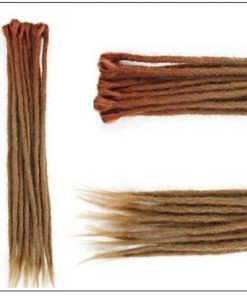 Ombre Brown 2-13 Synthetic Dreadlocks Extensions Reggae Hair 2-min