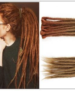 Ombre Brown 2-13 Synthetic Dreadlocks Extensions Reggae Hair 3-min