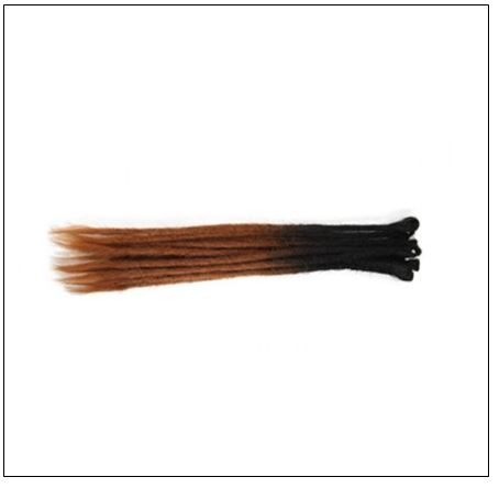 Ombre T2 6 Color Crochet Braids Synthetic Hair Dreads 2
