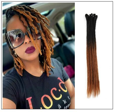 Ombre T2 6 Color Crochet Braids Synthetic Hair Dreads img