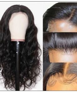 Pre Plucked Virgin Hair Body Wave HD Lace Closure Wigs Amazing Lace Melted Match All Skin Color img 2-min