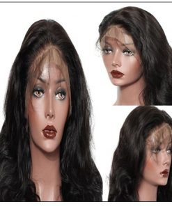 Pre Plucked Virgin Hair Body Wave HD Lace Closure Wigs Amazing Lace Melted Match All Skin Color img 3-min