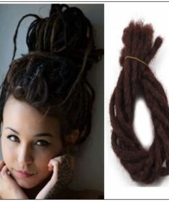 Soft Dread Crochet Hair Dreadlocks Extensions Synthetic Hair Color 33# img-min