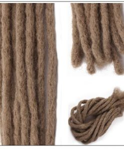 Synthetic Dreadlocks Hairstyles For Men and Women Dread Extensions Color 24# 4