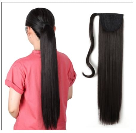 10 inch ponytail extension img-min