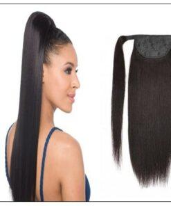 12 inch human hair ponytail-min
