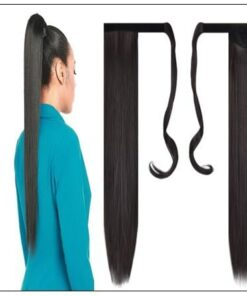 26 inch human hair ponytail img-min