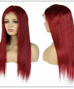 Best Pre Plucked Red Full Lace Wigs Human Hair 3