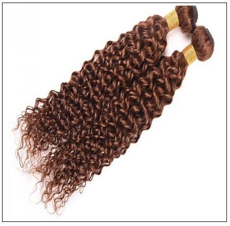 Brazilian Dark Brown Curly Hair Weaves 3-min