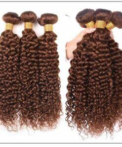 Brazilian Dark Brown Curly Hair Weaves 4-min