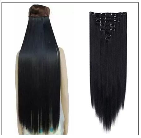 Foreign Holics Straight Clip in Hair Extensions 2-min