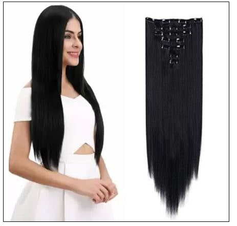 Foreign Holics Straight Clip in Hair Extensions img-min