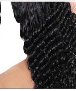 Human Hair Curly Ponytail 2-min