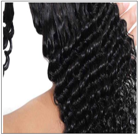 Human Hair Curly Ponytail 2-min