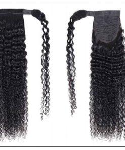 Human Hair Curly Ponytail 3-min