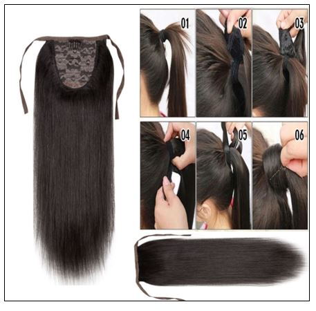 Short Ponytail Hair Extension 3-min