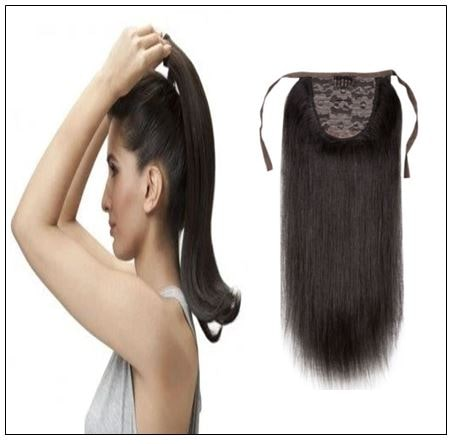 Short Ponytail Hair Extension img-min
