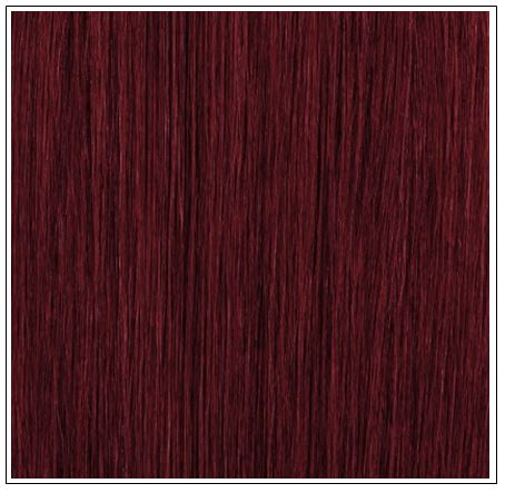 burgundy ponytail extension 3-min