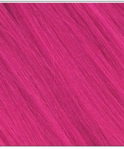 hot pink ponytail hair extension 2-min