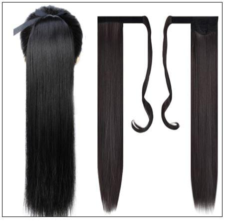 real hair ponytail 2-min