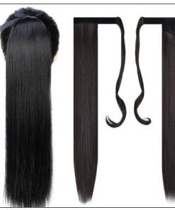 remy hair ponytail 3-min