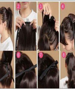 remy hair ponytail 4-min