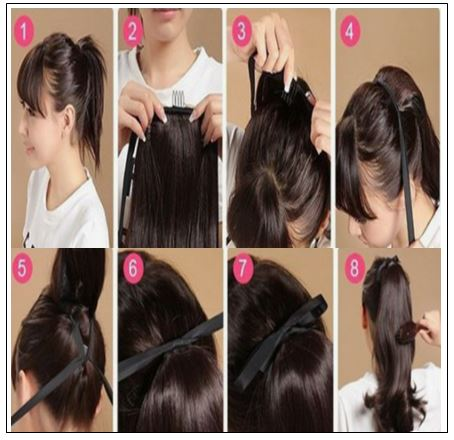 remy hair ponytail 4-min