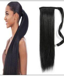 remy hair ponytail img-min