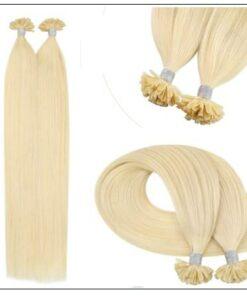 613 Colour Blonde U Tip Hair Extension 3-min