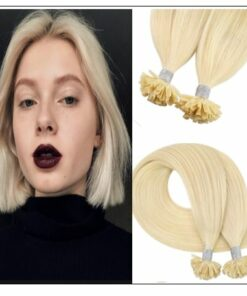 613 Colour Blonde U Tip Hair Extension IMG-min
