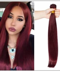 Burgundy Bundles 100% Natural Remy Human Hair