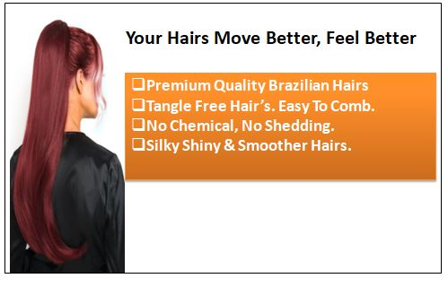 Burgundy Hair Extensions-Nexa hair Best Hair Extensions 1