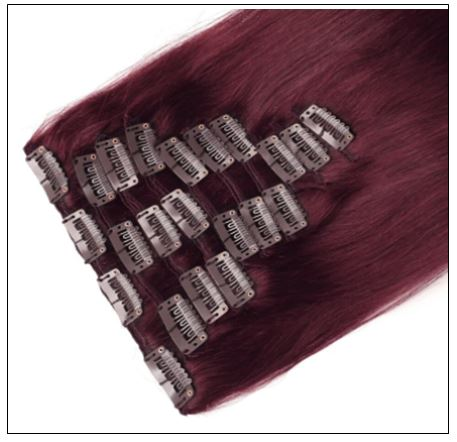 Burgundy Hair Extensions-Nexa hair Best Hair Extensions 2