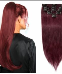 Burgundy Hair Extensions-Nexa hair Best Hair Extensions img