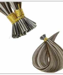 I Tip Piano Color 3P60 Keratin Pre Bonded Hair Extensions 2-min