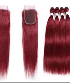 burgundy bundles with closure 3-min
