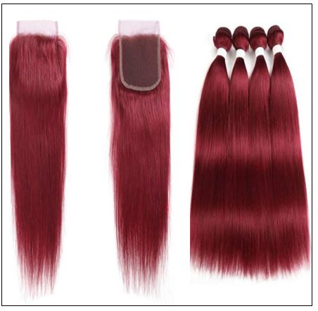 burgundy closure 2