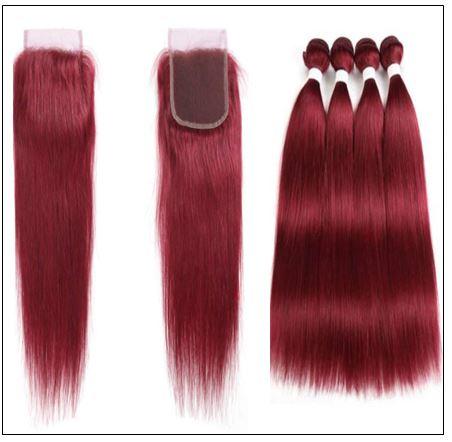 burgundy closure sew in 2 (3)