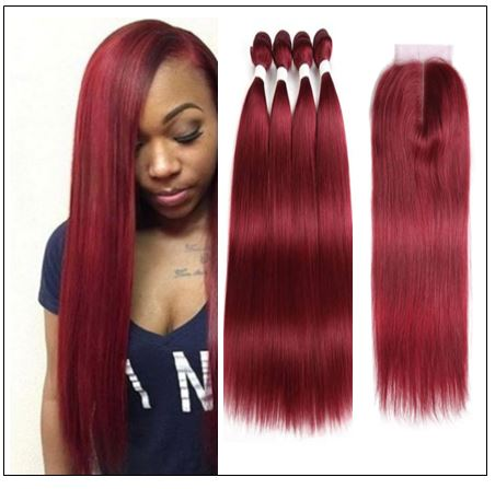 burgundy closure sew in 2 (6)