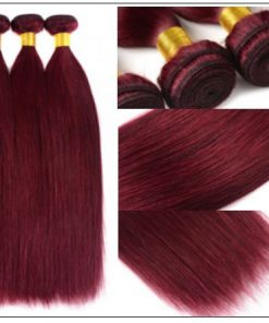 burgundy hair bundles 4-min