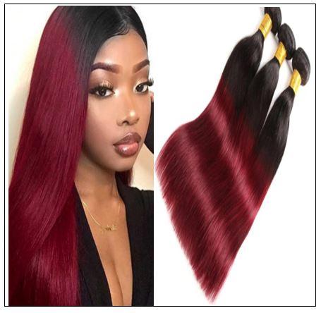 burgundy hair bundles img