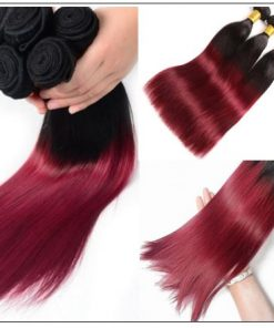burgundy ombre weave 2-min