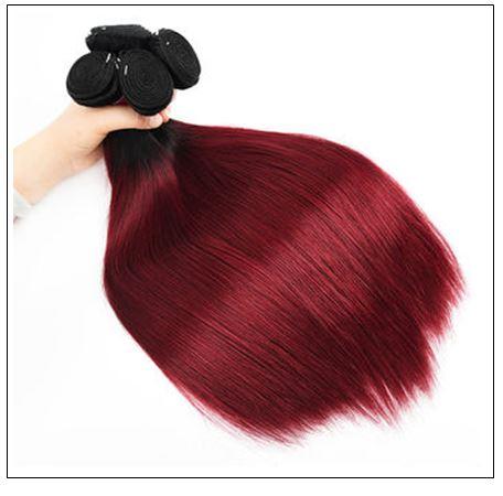 burgundy ombre weave 3-min