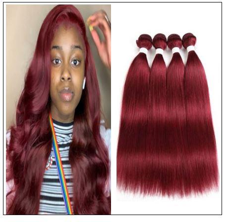 burgundy weave hairstyles img-min