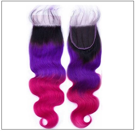 colored bundles with closure 3