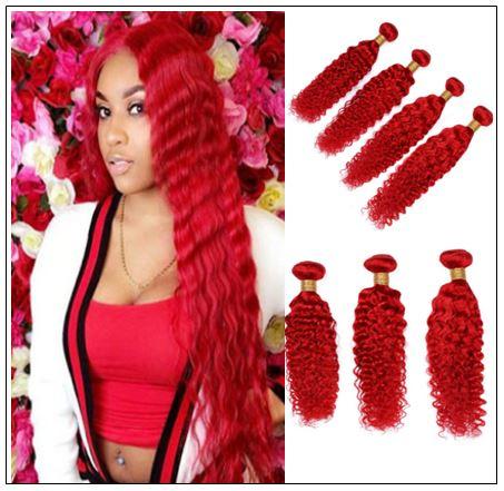 red deep wave hair img